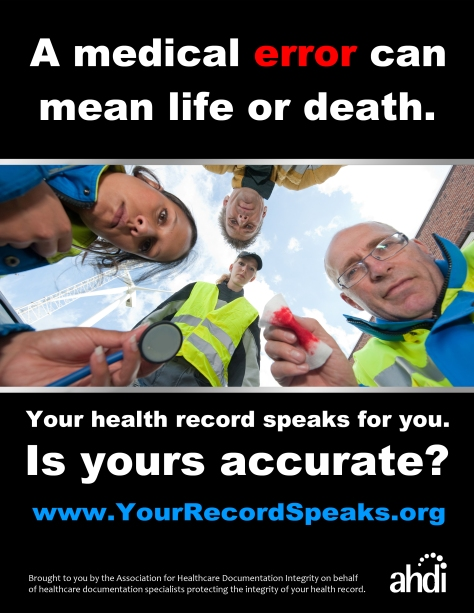 Your Health Record Speaks For You